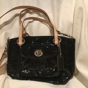 Coach small patent leather purse